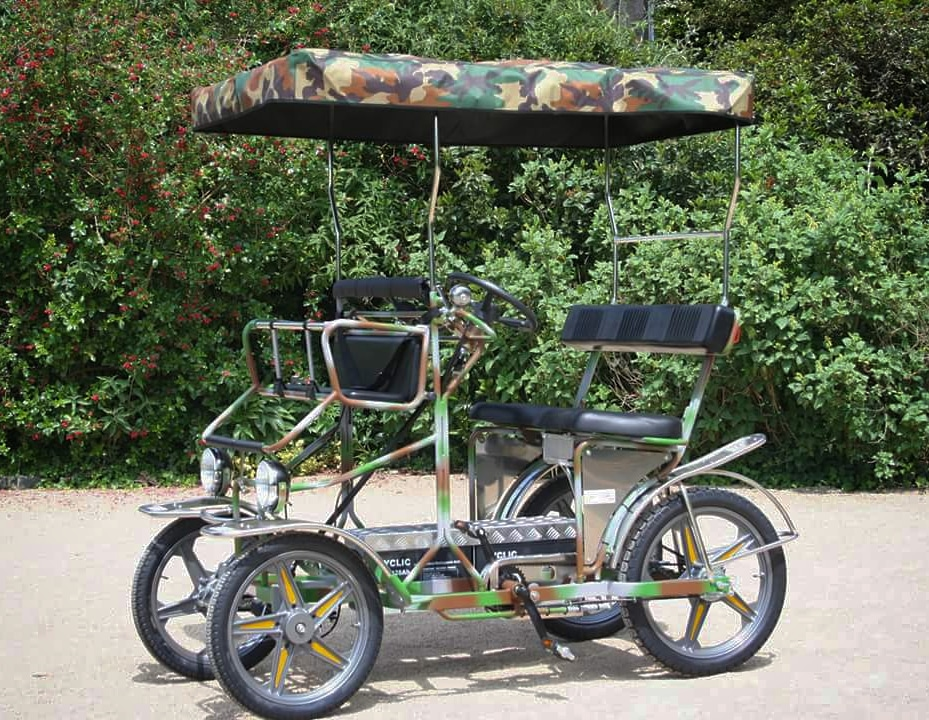 Small Surrey Pedal Car